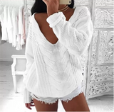 Winter Hot Sale Strapless Sexy Sweater
