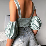 Backless Sexy Vest Top