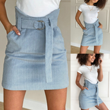 Casual Women's Hip Skirt