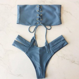 Fashion Blue Swimsuit