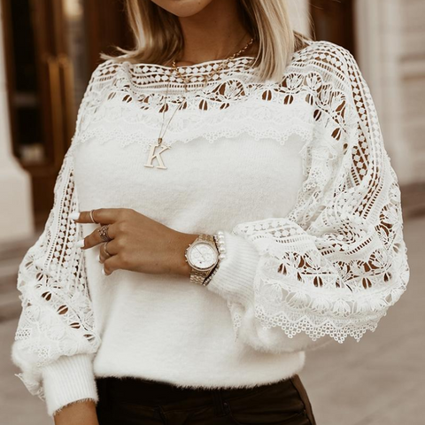 Women's Sexy Long Sleeve Sweater