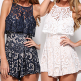 Sexy Sling Lace Jumpsuits