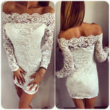 Design package hip lace dress