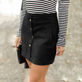Fashion Pocket Button Skirts