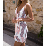 Print Sexy Sleeveless Dress