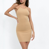Fashion Backless Slim Pack Hip Sling Dress