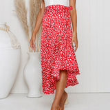 Design Flounced Chiffon Skirts