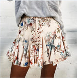 Cute Print Hip Skirt