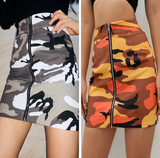 2018 Women'S Fashion Zipper Bag Hip Skirt