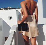 Sexy Sling Backless dress