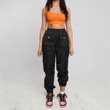 Women'S Fashion High Waist Casual Trousers