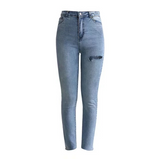 Fashion Denim High Waist Jeans
