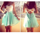 Fashion Sleeveless Green Dress