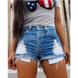 Fashion sexy denim shorts