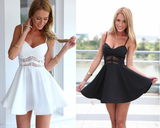 Design V-Neck Sleeveless Harness Dress