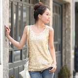Slim Sleeveless Vest T-Shirt