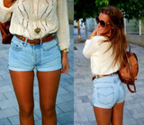 Sexy High Waist Denim Shorts