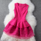 Fashion Sleeveless Mini Dress