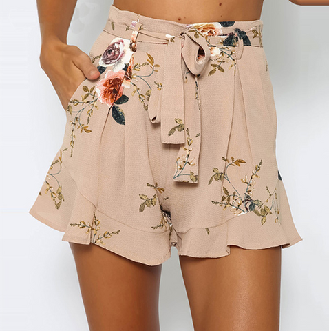 Women'S Casual Print Shorts
