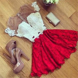 Fashion embroidered dress