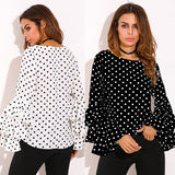 Sweet Round Neck Long-Sleeved T-Shirt Top