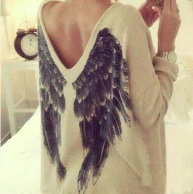 Fashion Back Wings T-Shirt