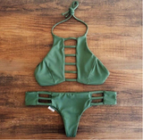 Sexy Green Two-Piece Bikini