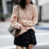 Hot Sale Winter Sexy Hollow Out Skirt