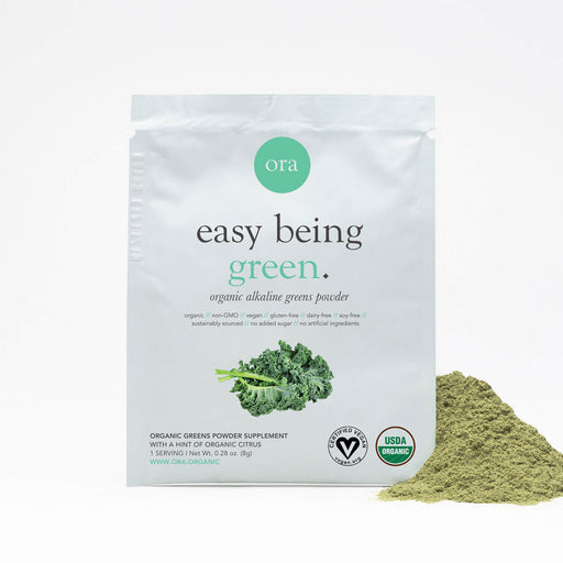 Organic Green Superfood Powder - Organic Green Powder Single Serving Packet