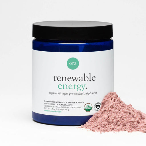Organic Pre-Workout Powder - Organic pre workout for women, vegan, plant-based and made for clean energy.