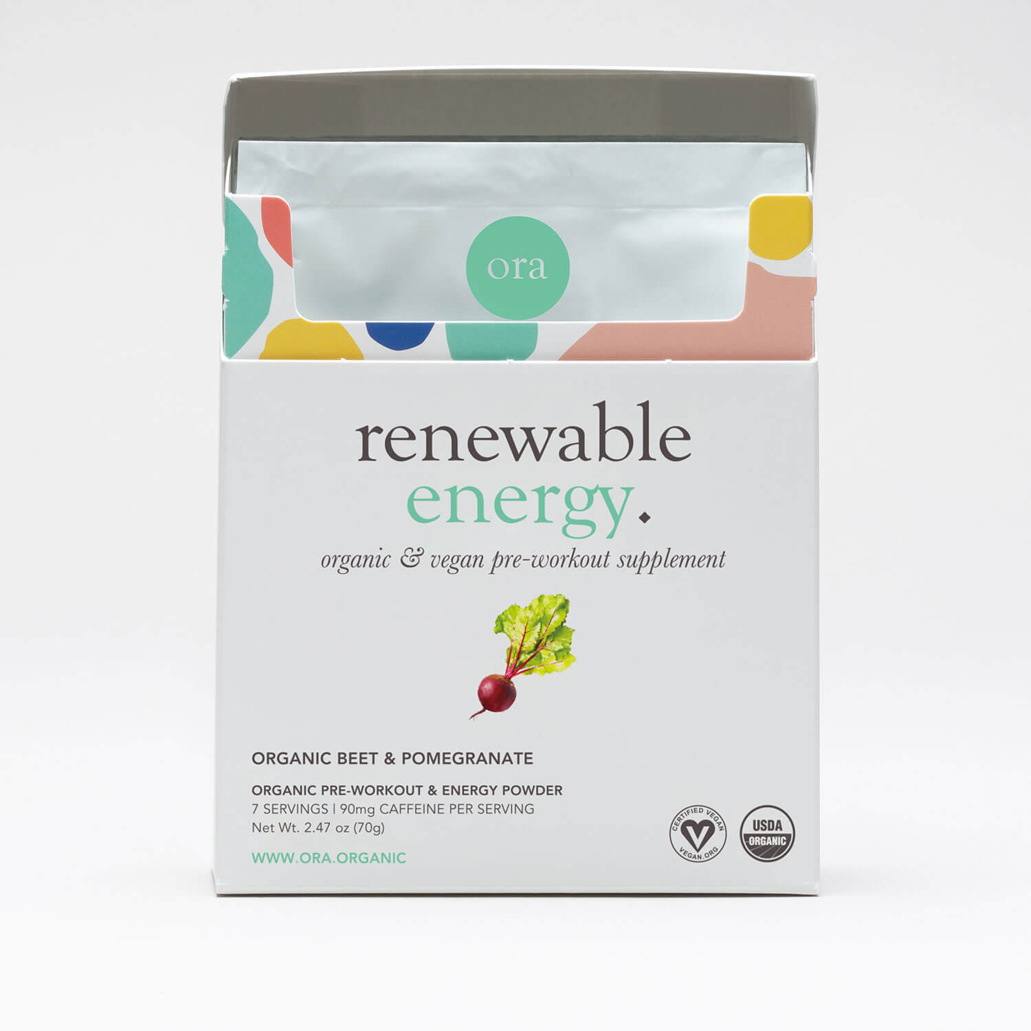 Natural Pre Workout Single Serving Packets