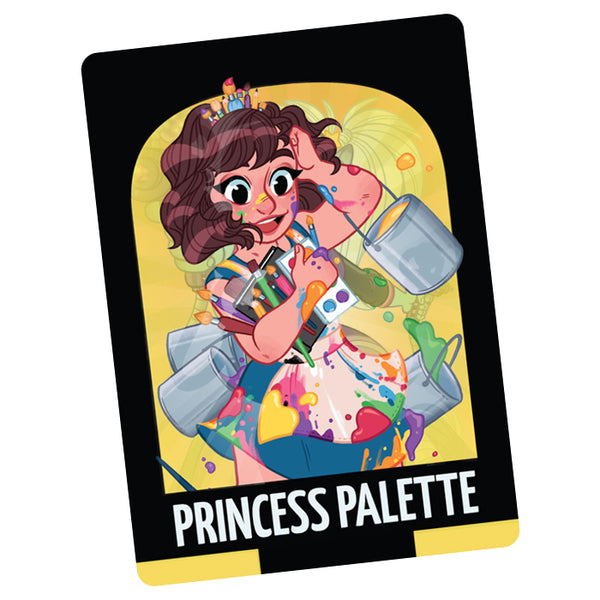 Sparkle*Kitty Princess Palette Card