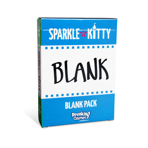 Sparkle*Kitty Blank Pack Box