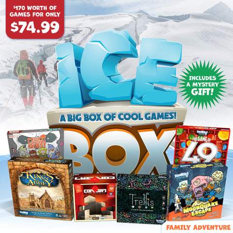 Family Adventure Holiday Ice Box of Games