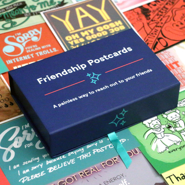 Friendship Postcards Box