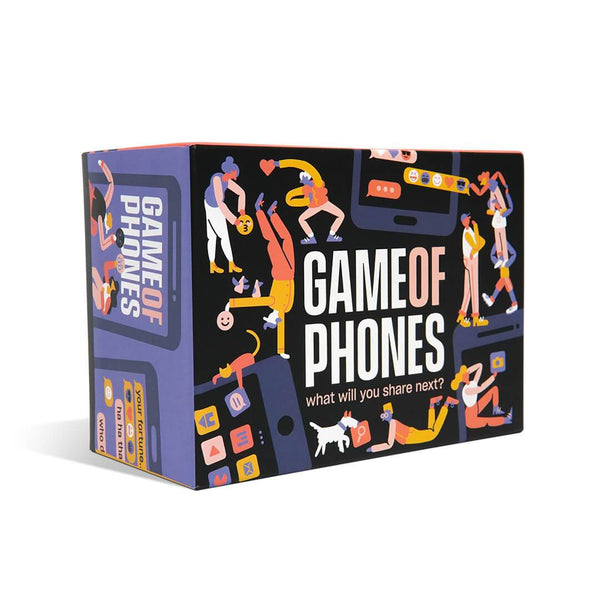 Game of Phones from Breaking Games - Game Box