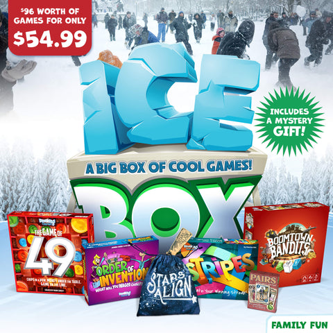 Family Fun Holiday Ice Box of Games