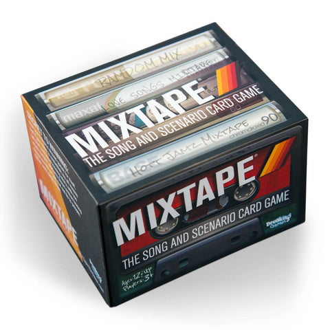 Mixtape - The Song and Scenario Card Game - Game Box