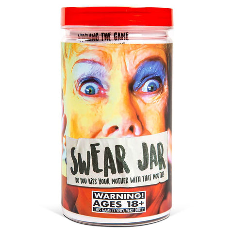 Front View of Swear Jar Game from Breaking Games