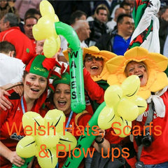 Welsh Hats, Blow Ups and Souvenirs
