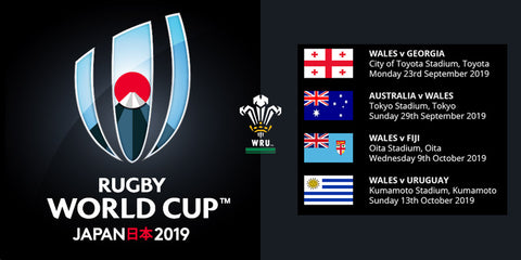 Rugby World cup 2019 Welsh Fixtures