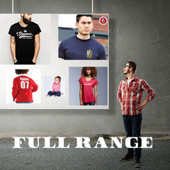 Mens Full Welsh Clothing Range