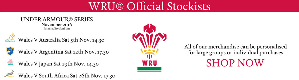 Wales autumn international rugby fixures