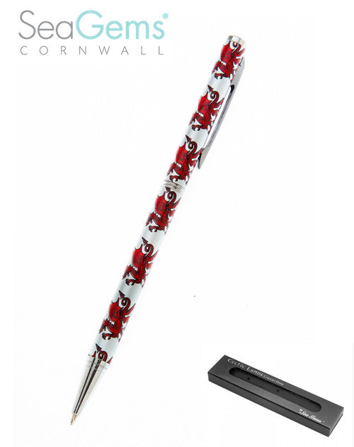 Red Dragon Wallet Pen