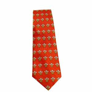 Prince of Wales Feathers Tie