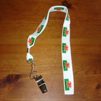 Welsh Flag Whistle