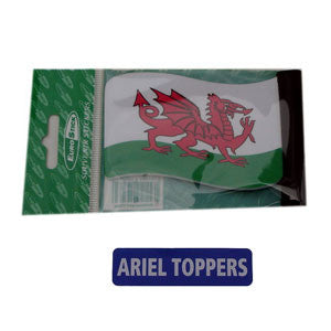 Welsh Flag Car Aerial Topper