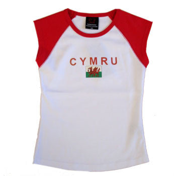 Childrens 'Cut Off' Welsh Top
