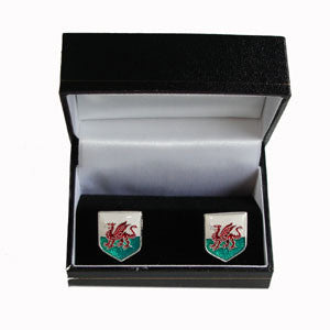 Welsh Flag Cuff Links