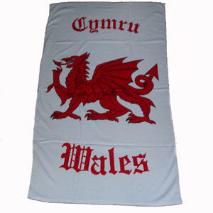 Welsh Dragon Beach Towel